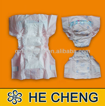 2016 new hot sale iso standard baby diaper factoty in china