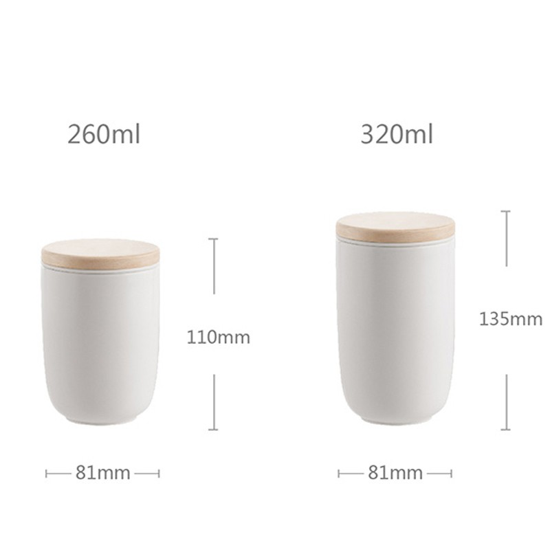 260ml / 320ml modern double wall mug with infuser for tea