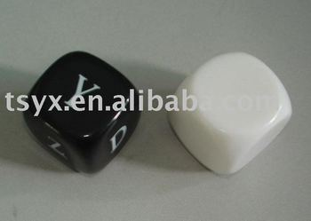 Smooth printing dice