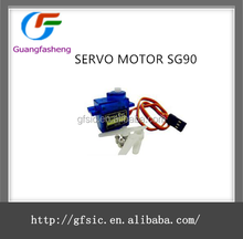 hot sale SERVO MOTOR SG90 with high quality
