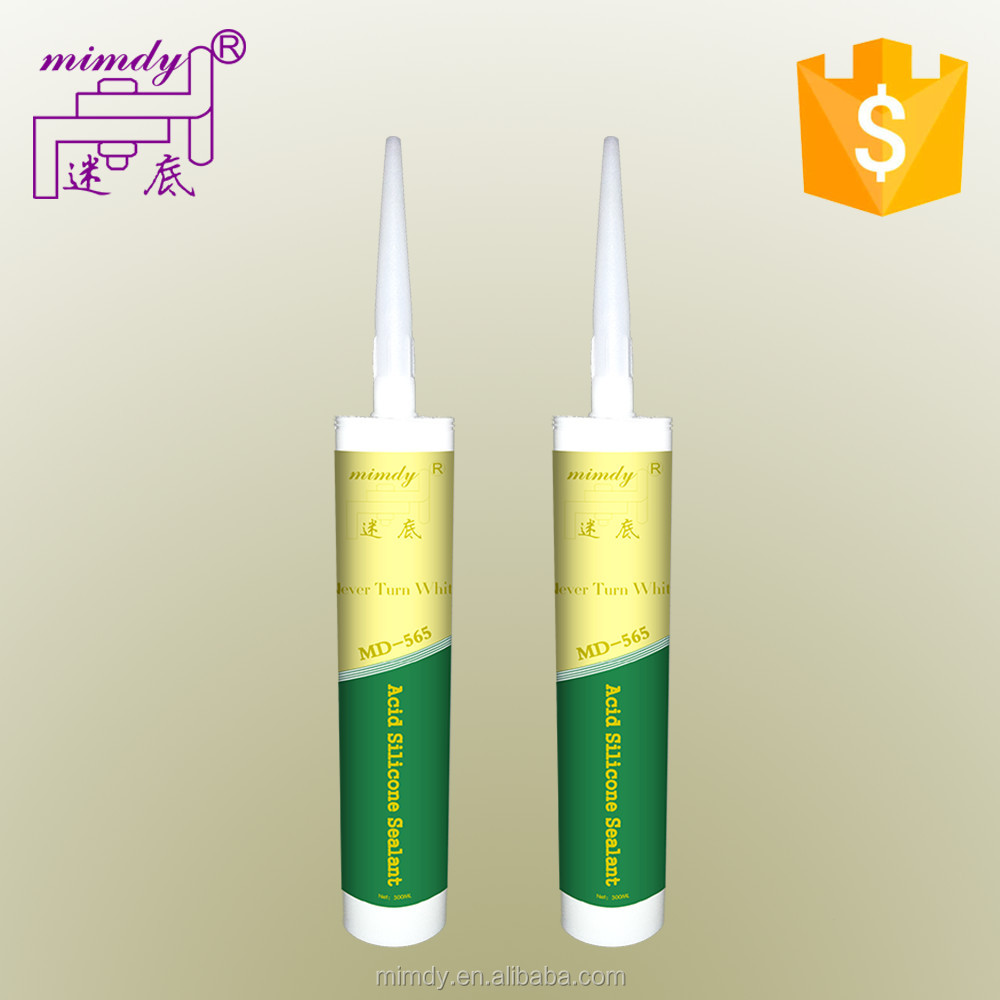 Factory Price Free Samples Acetic cure Silicone Sealant G1200 by manufacturer