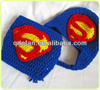 2013 New Superman Beanie Crocheted Baby Hat Super Hero Hat ...