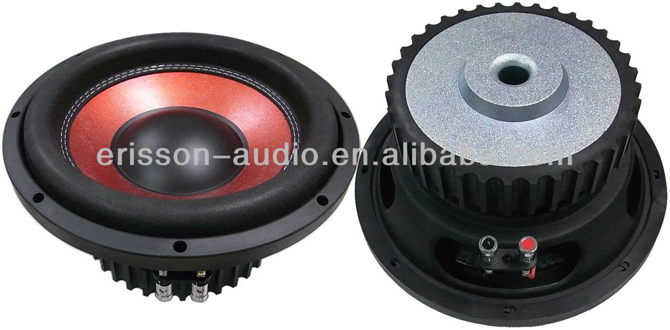 10'' powered sub woofer speaker pro bass speakers