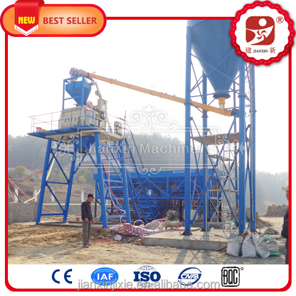 HZS35 ready mix concrete batching plant layout