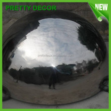 Large Metal Half Sphere with mirror matte finish