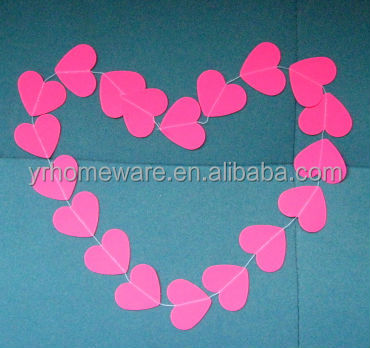 Wedding Decoration Paper Circle Confetti Garland