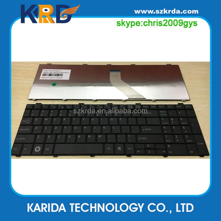 Brand New laptop internal keyboard for Fujitsu AH530 AH531 AH512 NH751 A531 A530 A512 AH502 keyboard