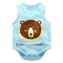 Baby Bodysuits Anti-Bacterial Low Price Plain Color Baby Rompers
