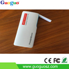 Real capacity hot sale lamp power bank 10000mah Dual USB External PowerBank