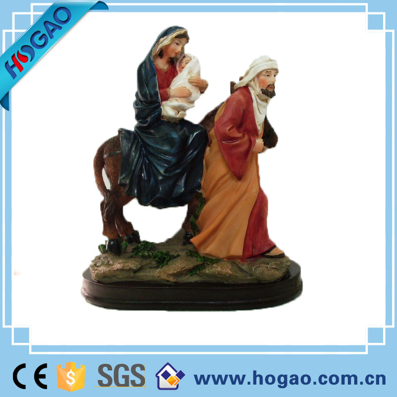 Devotional Religious Statue Our Lady of Guadalupe Resin religious figurine craft