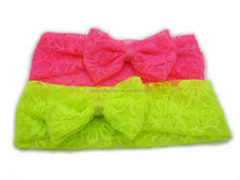 Fashion neon color headband - various styles hair band head wrap