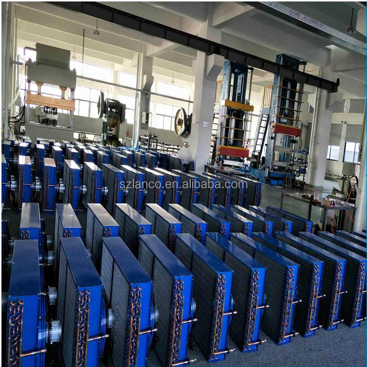 Copper Tube Commercial Refrigerator Air Cooled Condenser Price