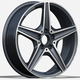 18 inch hot sale alloy wheel rim sport car wheel rim with pcd 5x112 from China(ZW-P5052)