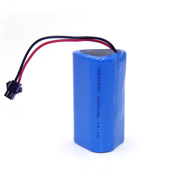 Lithium Group Customized 11.1v 3 Section Series 2200 mAh Rechargeable 18650 Batteries Battery