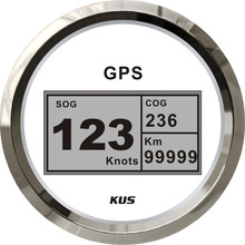 Waterproof KUS Vessel Boat Yacht 85mm Digital GPS Speedometer Odometer Gauge <strong>Meter</strong>