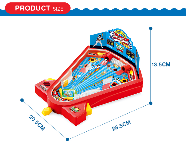 Desktop size interesting tabletop shooting ball maze game with hot sale