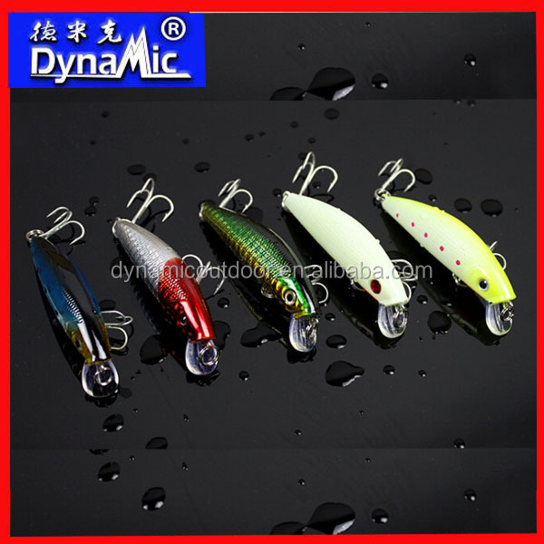80mm 8g Wholesale Hard Plastic Fishing Lures Minnow Fishing Lures