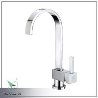 contemporary design waterfall kitchen mixer