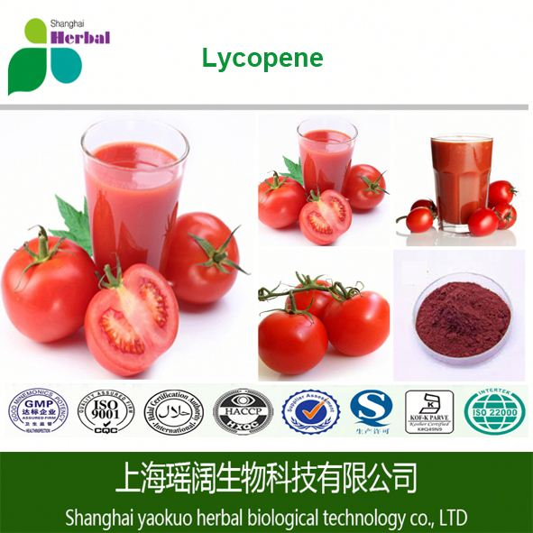 100% Pure organic plant extract tomato fruit extract with high quality lycopene