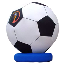 Giant inflatable soccer ball, large inflatable balloon for advertising