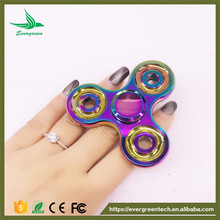 New Anti-Anxiety Bearing Edc Triangle Hand Spinner Interscrew Finger Decompression Puzzle Toys Wholesale Rainbow Fidet Spinners