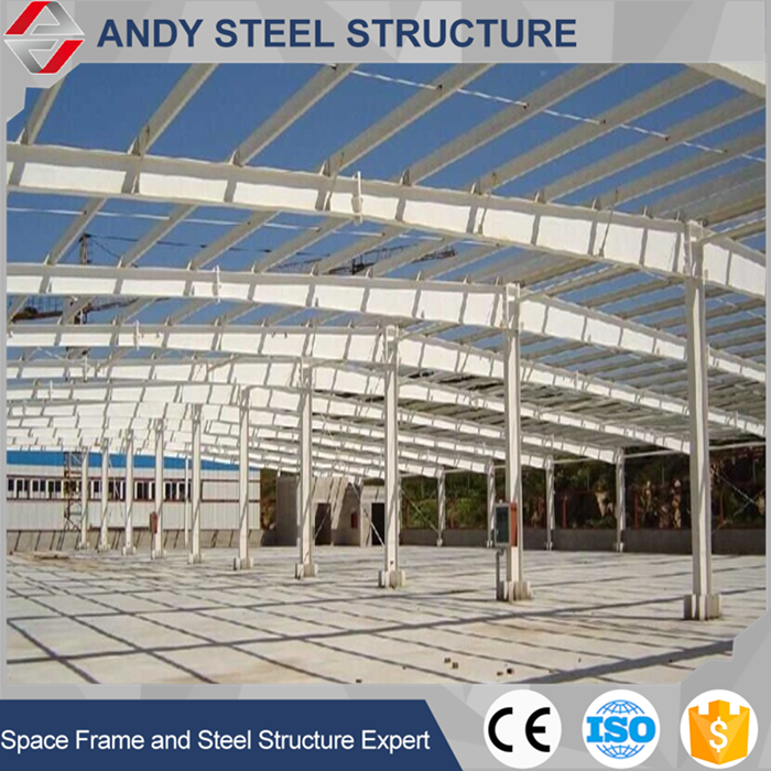Prefab Galvanised Steel Structure Car Show Room
