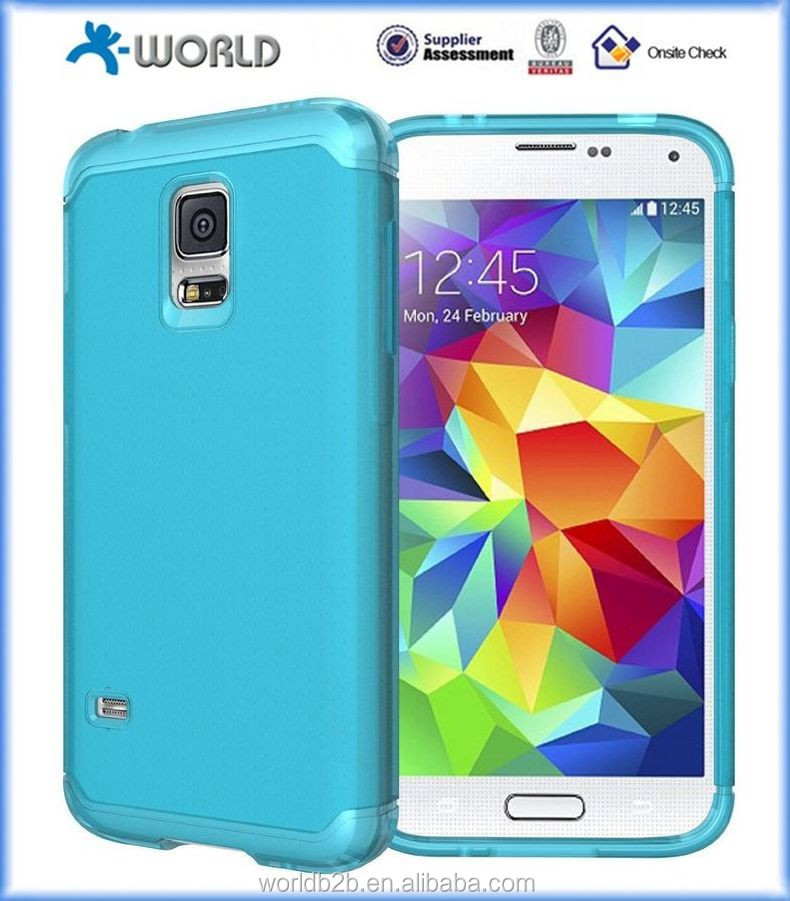 Durable Flexible TPU Case for Samsung Galaxy S5