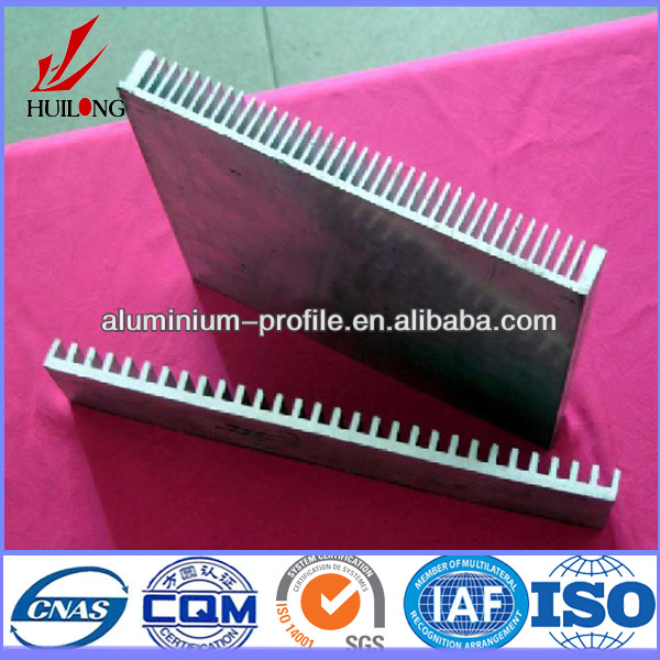 Hot sale ISO certificate 6000 series extrusion heat sink