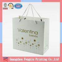 Customized Handmade Recycle Luxury Promotional Shopping Paper Bag