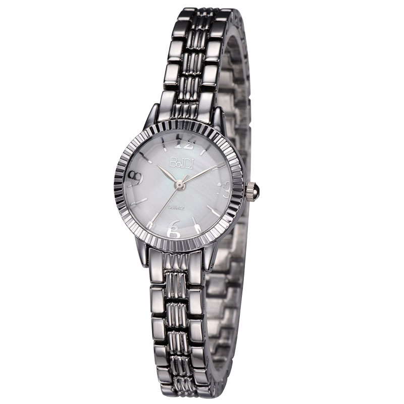 Japan Movt Quartz Stainless Steel Back Silver 925 Watches For Women