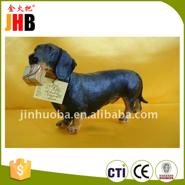 Resin dog Lifte size dog sculpture for sale&dog statue