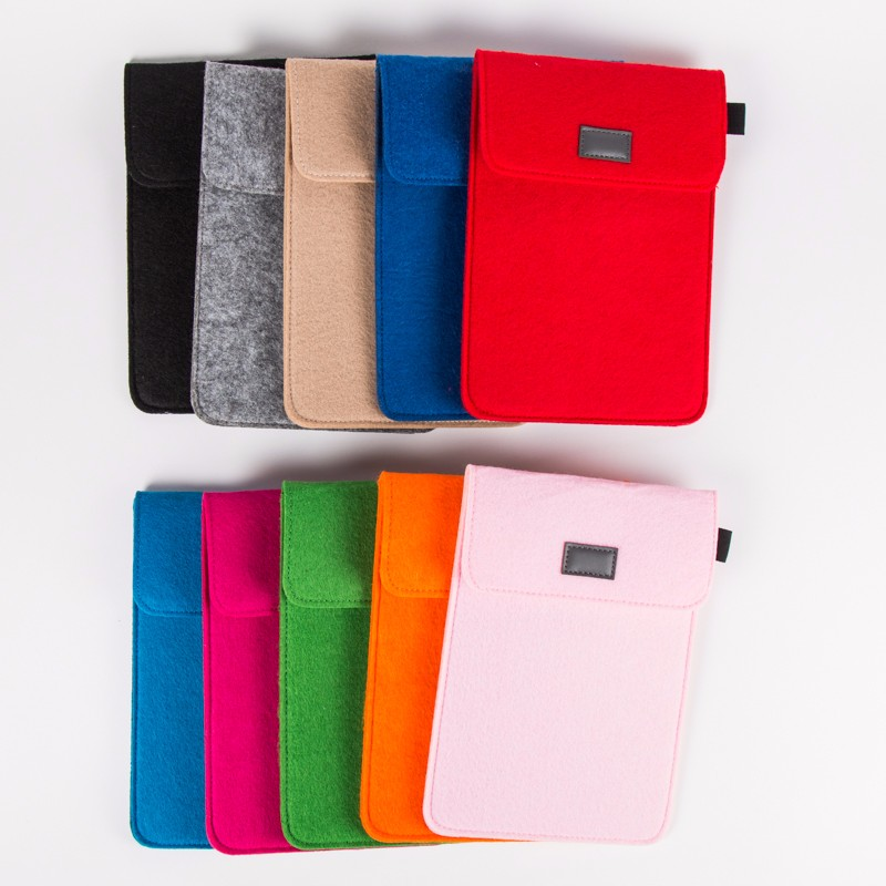 2017 Fashion Wool Felt 7 Tablet Case for Ipad mini