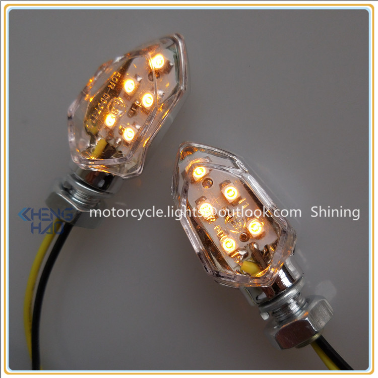 CH-1054 Chenghao new arrival mini motorcycle led turn signal lights, Changzhou factory motorbike parts led indicators