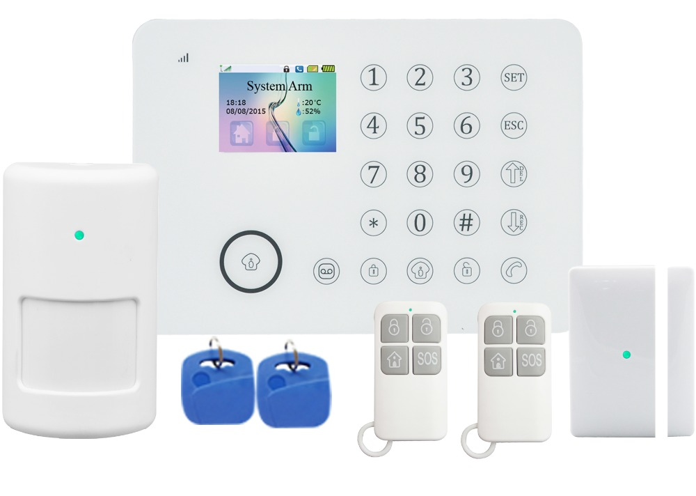 DIY solution for home security and automation,wireless wifi alarm system with smart sockets and app control