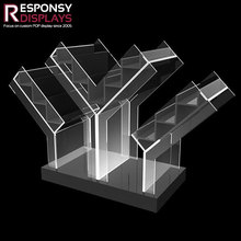 decorative counter transparent acrylic cigarette display case