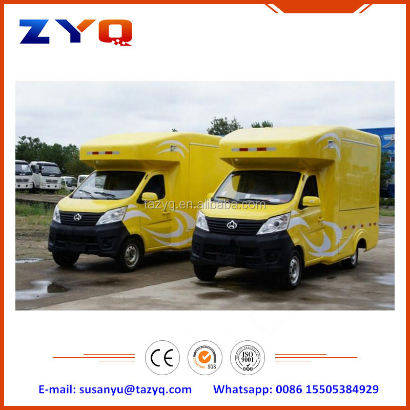 Chinese Brand New 4x2 Mini Selling Food Truck for Sale