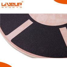 China manufacturer fitness training wooden balance board