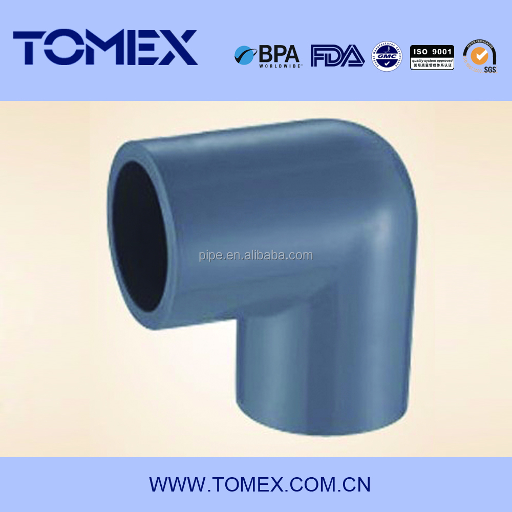 Astm sch pvc fitting inch pipe elbow buy