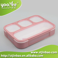Eco Friendly Plastic Lunch Box Portion Control Containers