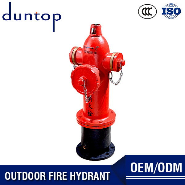 China Red Color Fire Hydrant Cabinet Fire Hose Valve Outdoor Fire Hydrant With Cheap Prices