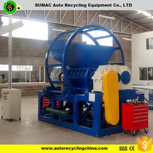 Tire shredder machinery for tire pyrolysis for sale