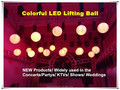 2015 new led lift color ball/party light led ball light outdoor magic the gathering