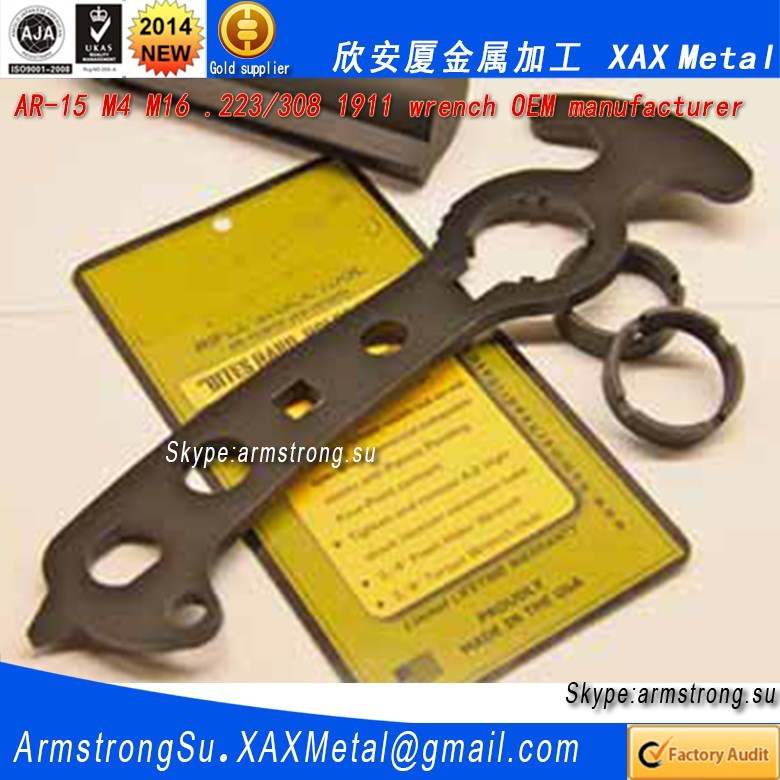 XAXWR11 6 inch vernier caliper measuring parts all in one armorer wrench