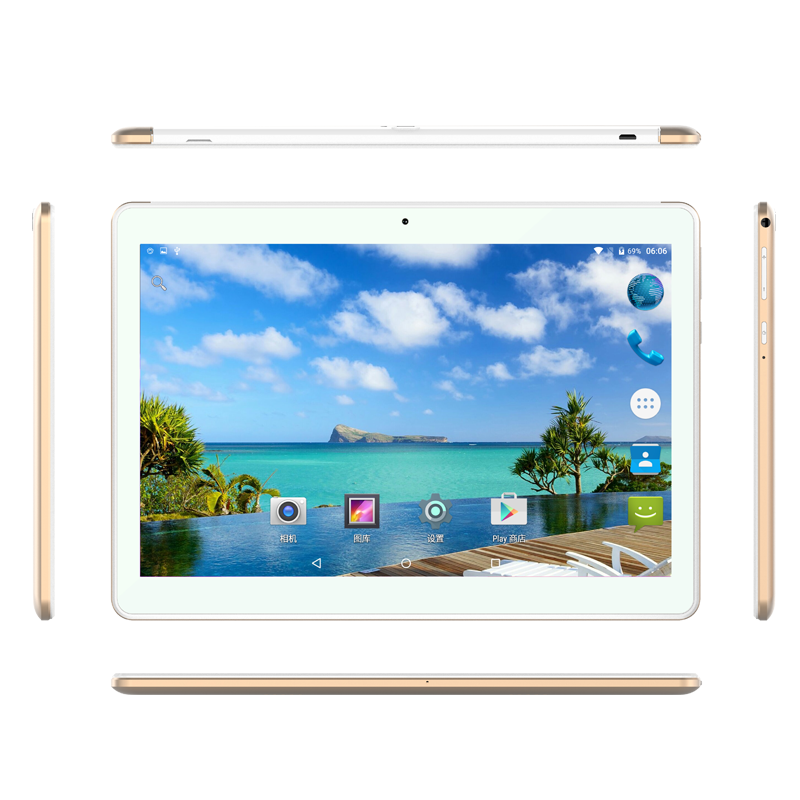 10.1inch lte 4g tablet pc android6.0 True Octa-Core Bluetooth 4.0,WIFI,GPS,FM