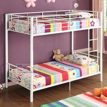 Metal detachable bunk bed for home,classic metal /iron bunk bed