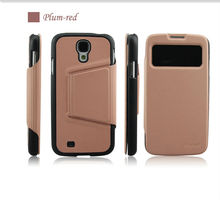 for samsung galaxy s4 book style leather mobile phone case