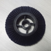 model pig hair nylon purple colour textile knitting scouring machine sweeper cleaning brush parts