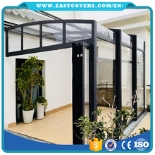 Eco-friendly aluminium frame prefabricated glass house