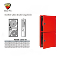 Fire protection equipment Double baffle fire hydrant box