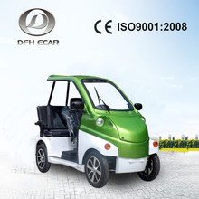 CE approved 3 seaters mini electric car jack for rent in tourist